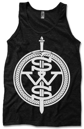 Tank Top: Sleeping With Sirens - White Symbol Tank Top