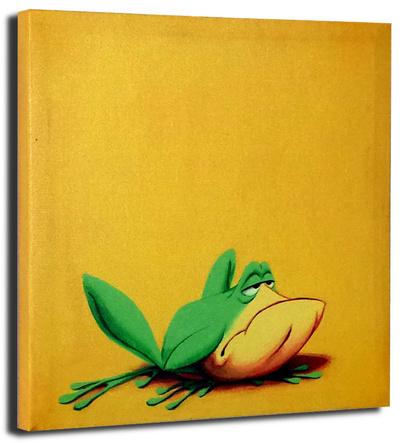 Michigan J. Frog Stretched Canvas Print