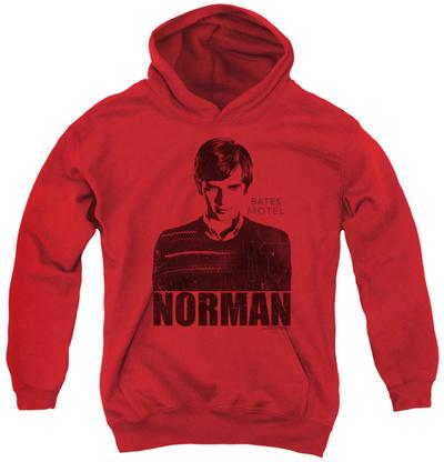 Youth Hoodie: Bates Motel - Norman Pullover Hoodie