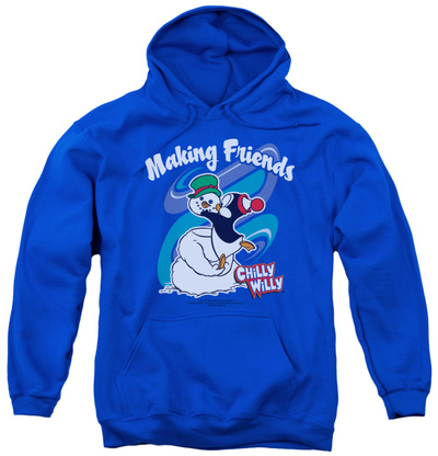 Youth Hoodie: Chilly Willy - Making Friends Pullover Hoodie