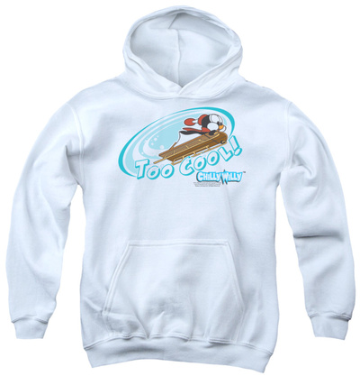 Youth Hoodie: Chilly Willy - Too Cool Pullover Hoodie