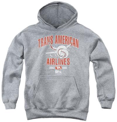 Youth Hoodie: Airplane - Trans American Pullover Hoodie