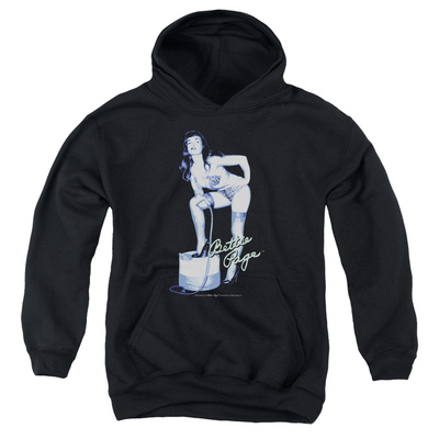 Youth Hoodie: Bettie Page - Mistress Pullover Hoodie