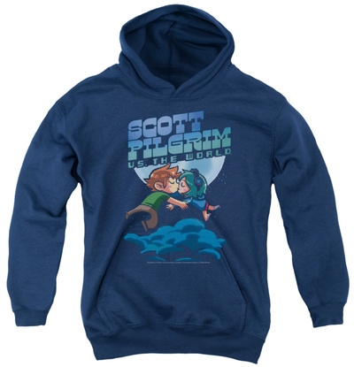 Youth Hoodie: Scott Pilgrim - Lovers Pullover Hoodie