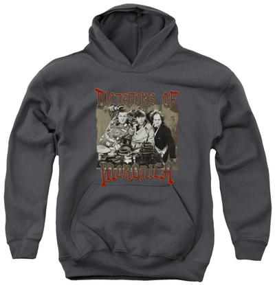 Youth Hoodie: Three Stooges - Moronica Pullover Hoodie