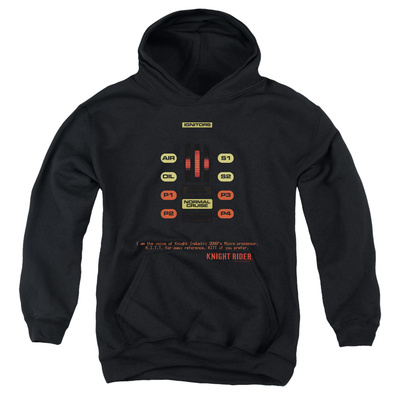 Youth Hoodie: Knight Rider - Kitt Consol Pullover Hoodie