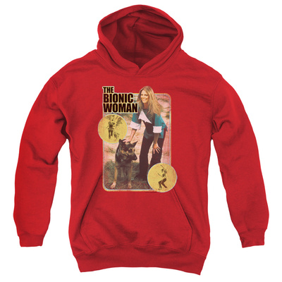 Youth Hoodie: Bionic Woman - Jamie And Max Pullover Hoodie