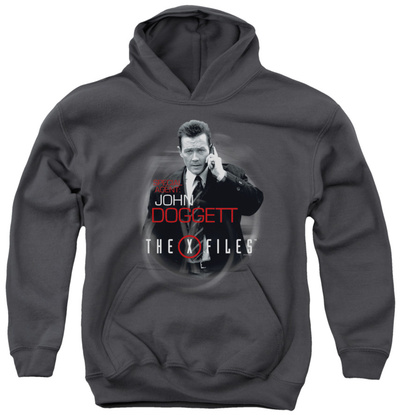 Youth Hoodie: X Files - Doggett Pullover Hoodie