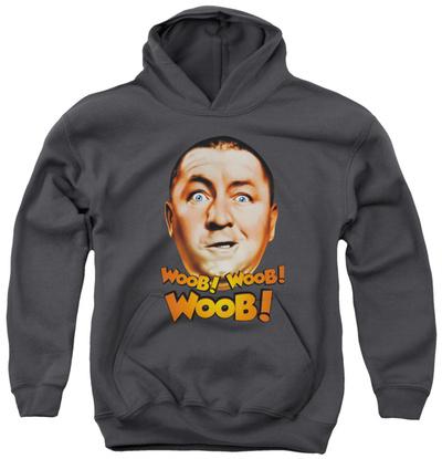 Youth Hoodie: Three Stooges - Woob Woob Woob Pullover Hoodie