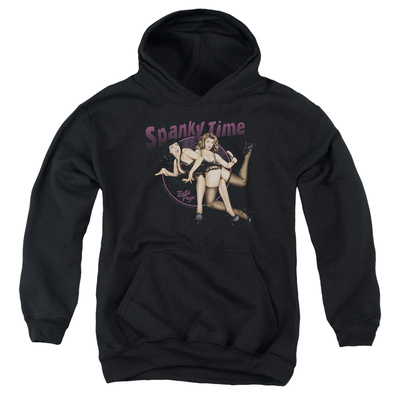 Youth Hoodie: Bettie Page - Spanky Time 2 Pullover Hoodie