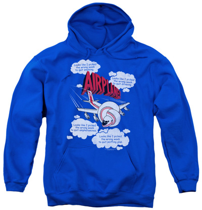 Youth Hoodie: Airplane - Picked The Wrong Day Pullover Hoodie