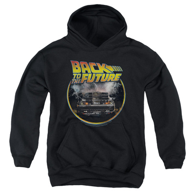 Youth Hoodie: Back To The Future - Back Pullover Hoodie