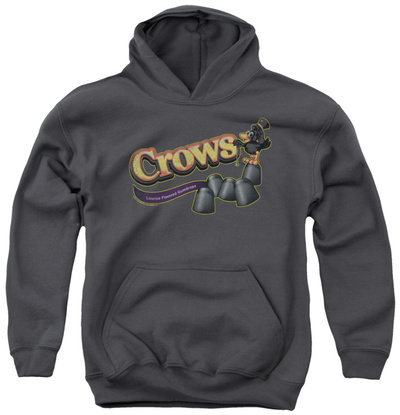 Youth Hoodie: Tootise Roll - Crows Pullover Hoodie