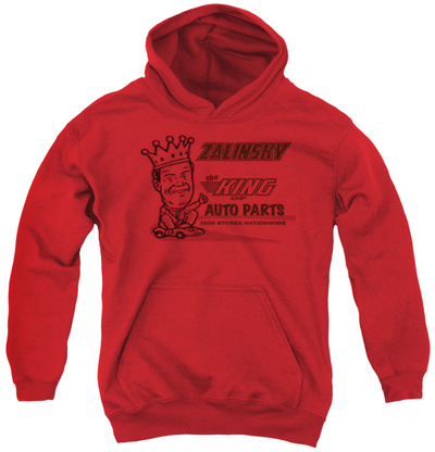 Youth Hoodie: Tommy Boy - Zalinsky Auto Pullover Hoodie