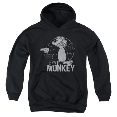 Youth Hoodie: Family Guy - Evil Monkey Pullover Hoodie