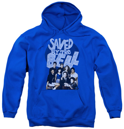 Youth Hoodie: Saved By The Bell - Retro Cast Pullover Hoodie