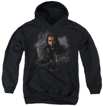 Youth Hoodie: The Hobbit - Thorin Oakenshield Pullover Hoodie