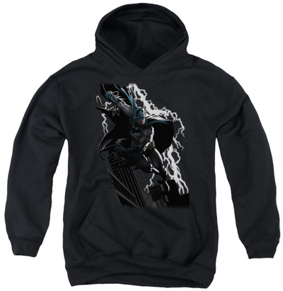 Youth Hoodie: Justice League - Lighting Crashes Pullover Hoodie