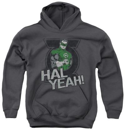 Youth Hoodie: Green Lantern - Hal Yeah Pullover Hoodie