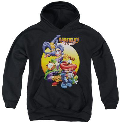 Youth Hoodie: Garfield - Tongue Of Doom Pullover Hoodie!