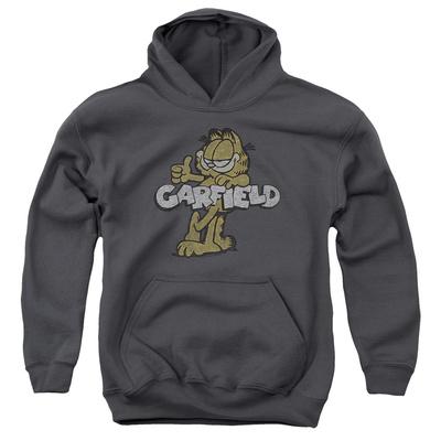 Youth Hoodie: Garfield – Retro Garf Pullover Hoodie
