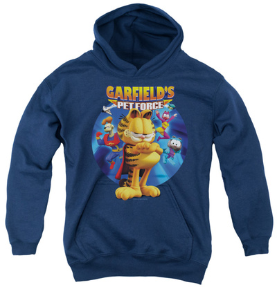 Youth Hoodie: Garfield - Dvd Art Pullover Hoodie