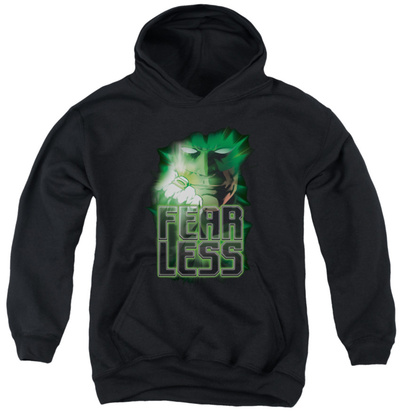 Youth Hoodie: Green Lantern - Fearless Pullover Hoodie