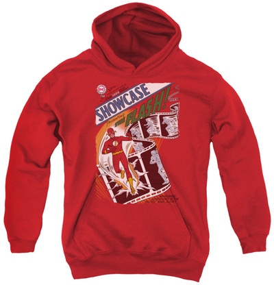 Youth Hoodie: Justice League - Showcase 4 Cover Pullover Hoodie