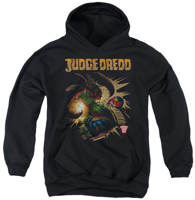 Youth Hoodie: Judge Dredd - Blast Away Pullover Hoodie