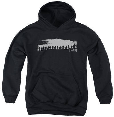 Youth Hoodie: The Hobbit - The Company Pullover Hoodie