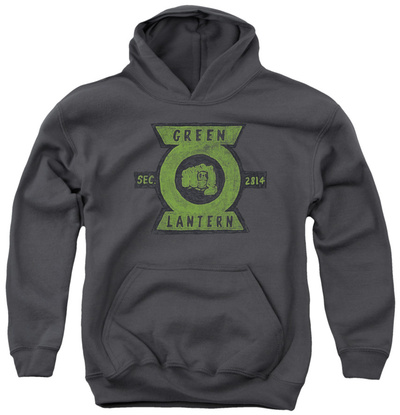 Youth Hoodie: Green Lantern - Section Pullover Hoodie
