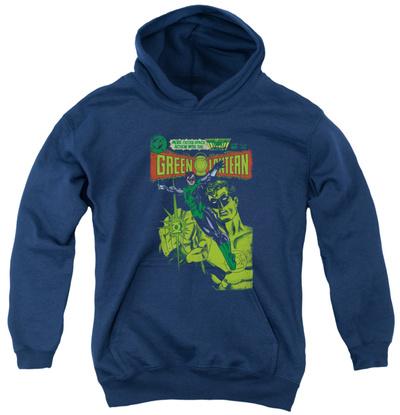 Youth Hoodie: Green Lantern - Vintage Cover Pullover Hoodie