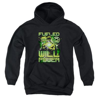 Youth Hoodie: Green Lantern - Fueled Pullover Hoodie