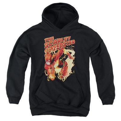 Youth Hoodie: Justice League - Scarlet Speedster Pullover Hoodie