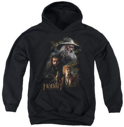Youth Hoodie: The Hobbit - Painting Pullover Hoodie