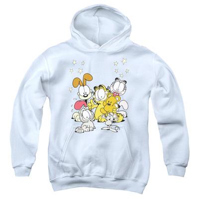 Youth Hoodie: Garfield - Friends Are Best Pullover Hoodie