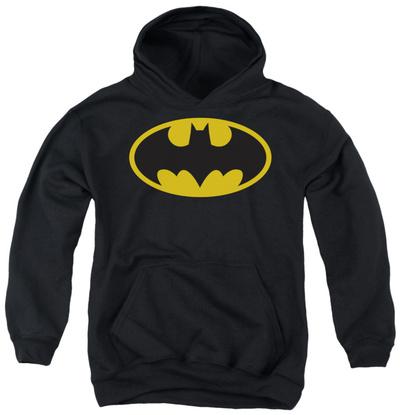Youth Hoodie: Batman - Classic Logo Pullover Hoodie!