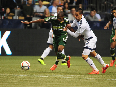 MLS: Portland Timbers at Vancouver Whitecaps FC Photo by Anne-Marie Sorvin
