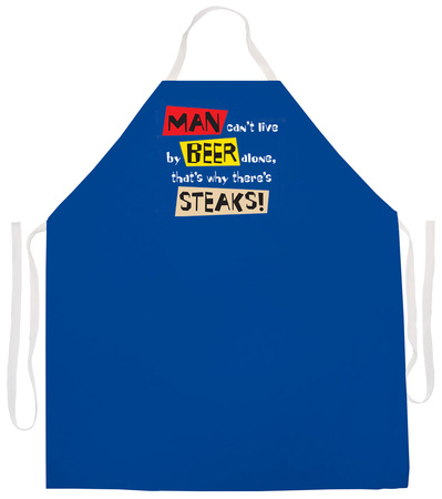 Live By Beer Alone Apron Apron