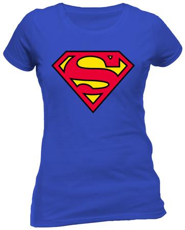 Juniors: Superman - Logo T-Shirt