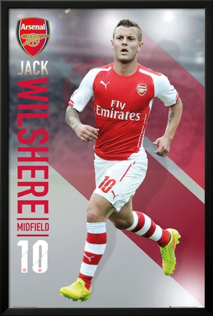 Arsenal - Wilshere 14/15 Posters