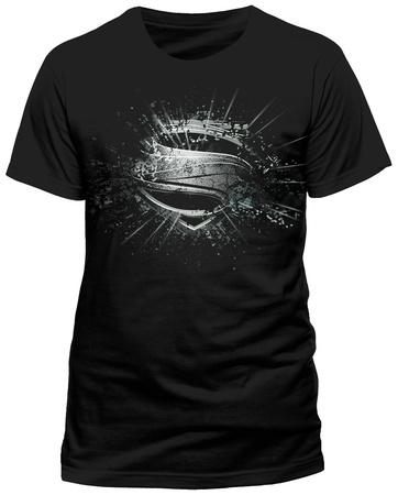 Superman: Man Of Steel - Erroded Shirts