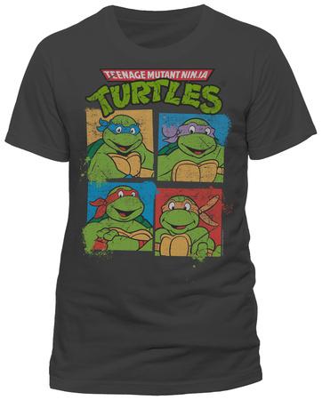 Teenage Mutant Ninja Turtles - Group Shot T-Shirt
