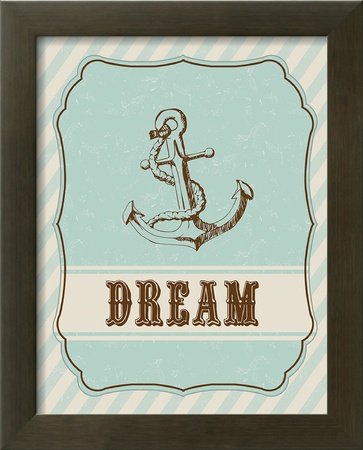 Dream Anchor Posters by Tiffany Everett
