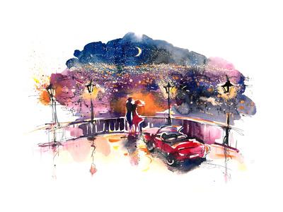 Romantic Date Prints by  okalinichenko