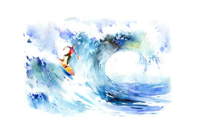 Surfing Posters by  okalinichenko