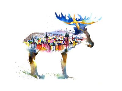 Sverige Posters af  okalinichenko