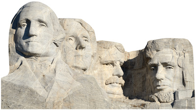Mount Rushmore National Monument Standup Cardboard Cutouts