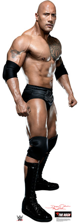 WWE - The Rock Lifesize Standup Cardboard Cutouts