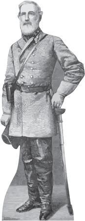 General Robert E. Lee Lifesize Standup Cardboard Cutouts